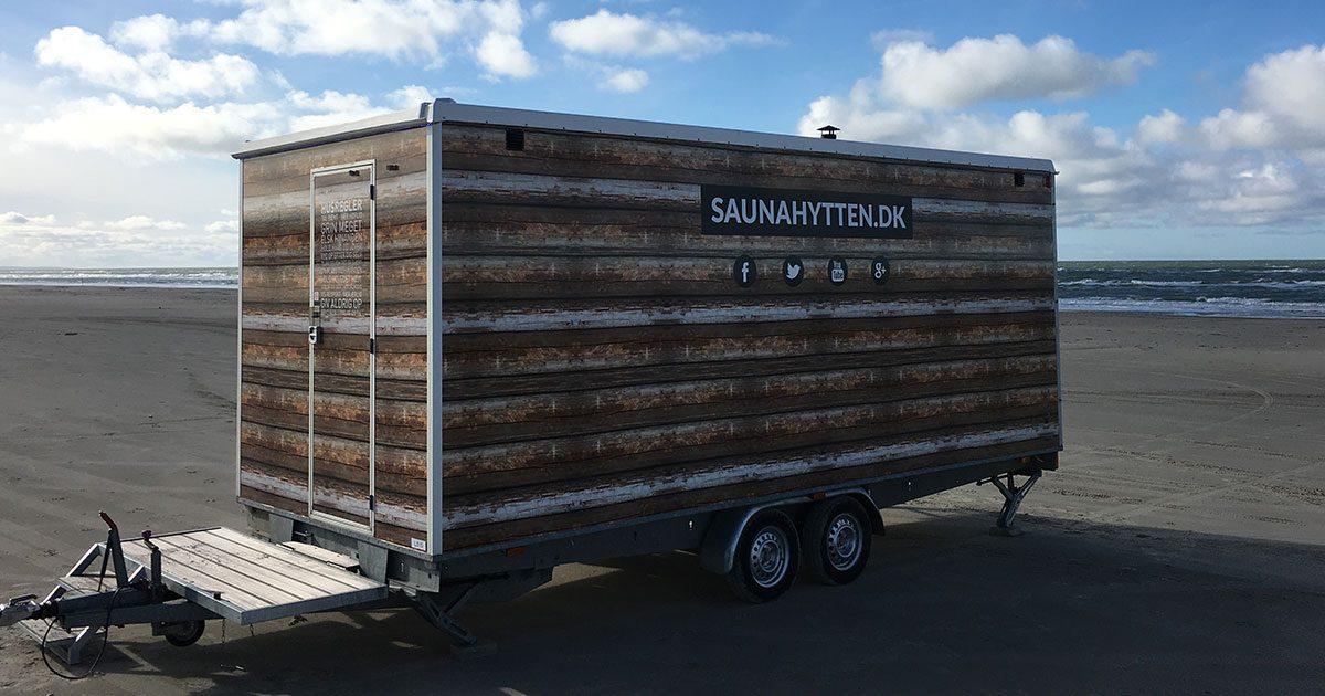 Saunahytten dk   Lej en mobil sauna i 2 timer eller én hel dag
